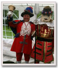 Colin with a Beefeater.